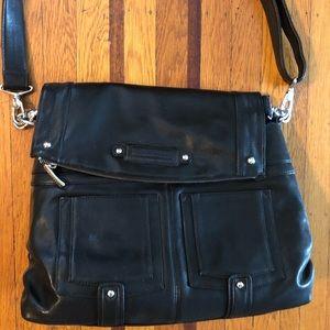 Kelly Moore Songbird camera bag diaper black purse